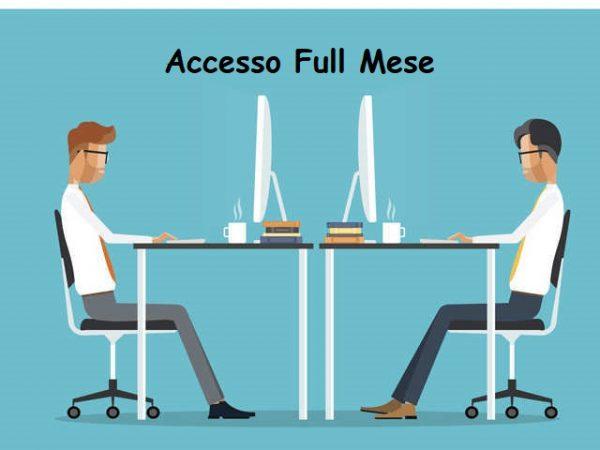 Coworking Superior Accesso Full Mese postazione dedicata, desk Dedicata