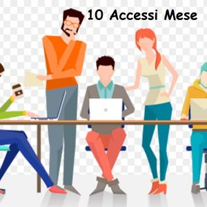 Coworking 10 Accessi Mese