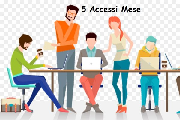 Coworking 5 Accessi Mese